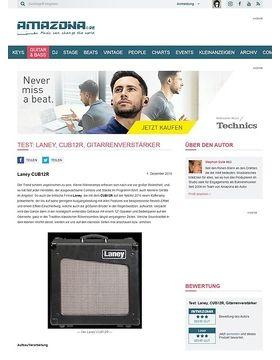 Test: Laney, CUB12R, Gitarrenverstärker