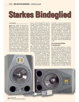 Starkes Bindeglied ADAM Audio A8X