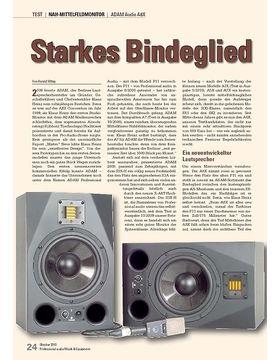 Starkes Bindeglied ADAM Audio A8X