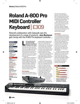 Roland A-800 Pro MIDI Controller Keyboard