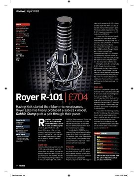 Royer R-101