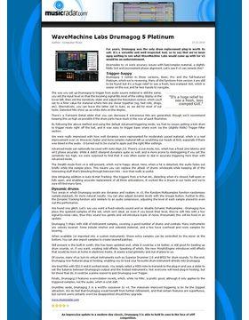 WaveMachine Labs Drumagog 5 Platinum