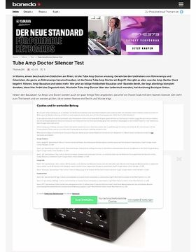 Tube Amp Doctor Silencer