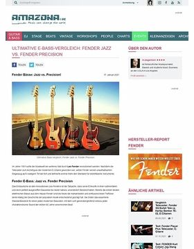 Workshop: Guitar know-how: Fender Bässe - Jazz vs. Precision