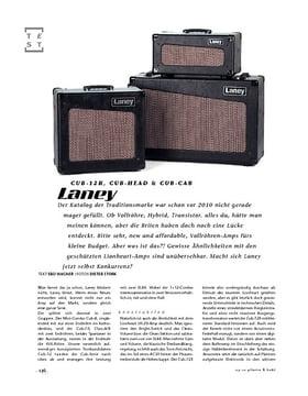 Laney Cub-12R, Cub-Head & Cub-Cab, Tube-Amps
