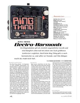 Electro-Harmonix Ring Thing, FX-Gerät