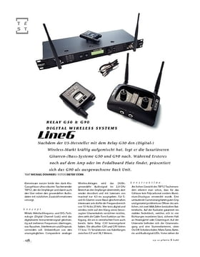 Line6 Relay G50 & G90, Digital Wireless Systems