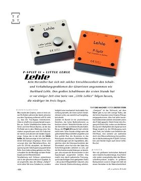 Lehle P-Split II + Little Lehle, Signal-Looper/Splitter