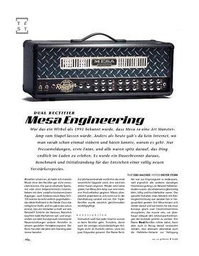 Mesa Engineering Dual Rectifier, Tube-Head