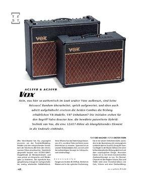 Vox AC30VR/AC15VR, Hybrid-Combos