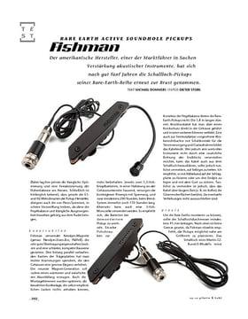 Fishman Rare Earth Active Soundhole Pickups