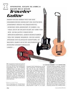 Traveler Guitar Speedster, Escape EG-1MHG & Escape MK-II Nylon