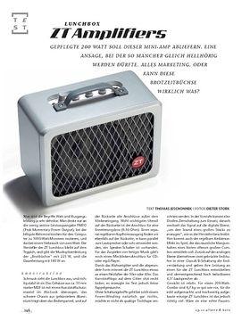 ZT Amplifiers Lunchbox