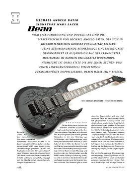 Dean Michael Angelo Batio Signature MAB1 Lazer, E-Gitarre
