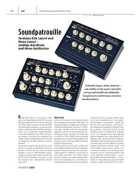 Vermona Kick Lancet und Mono Lancet - analoge Bassdrum- und Mono-Synthesizer