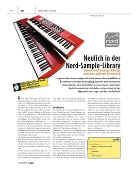 Neulich in der Clavia Nord Sample Library