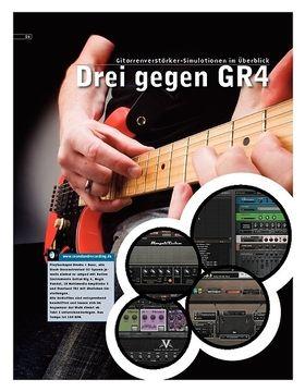 Drei gegen Guitar Rig 4