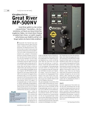 Great River MP-500NV