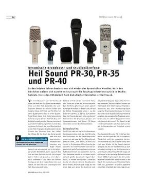 Heil Sound PR-30, PR-35 und PR-40