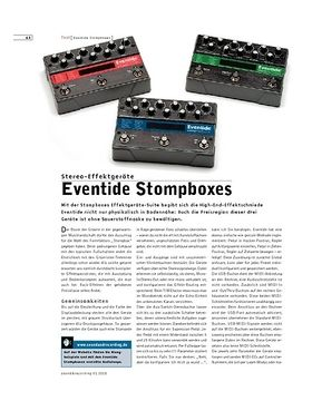 Eventide Stompboxes
