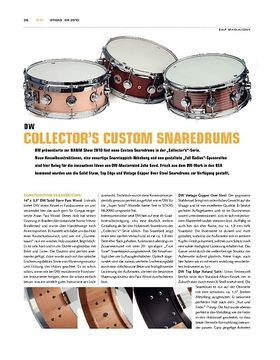 DW Collector's Custom Snaredrums