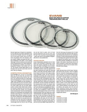 Evans EC2 Sound Shaping Technology Felle