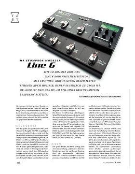 Line6 M9 Stompbox Modeler