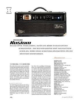 Kustom DE300HD, Bass-Top