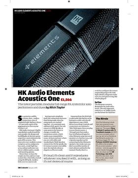 HK Audio Elements Acoustics One