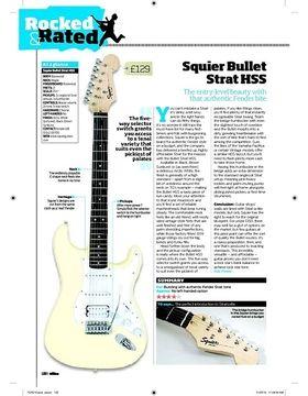 Squier Bullet Strat HSS