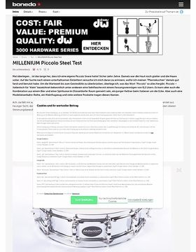 Millenium Piccolo Steel