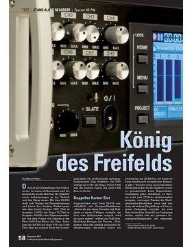 König des Freifelds: Tascam HS-P82