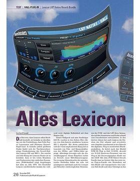 Lexicon LXP Native Reverb Bundle