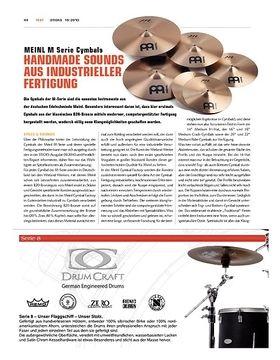 Meinl M-Serie Cymbals