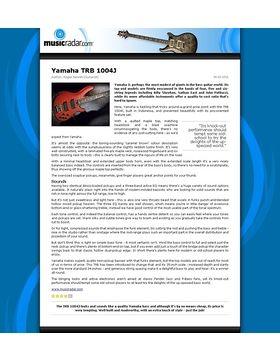 Yamaha TRB 1004J