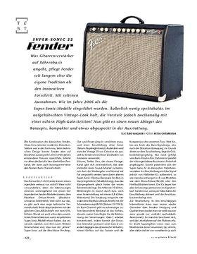 Fender Super-Sonic 22, Tube-Amp
