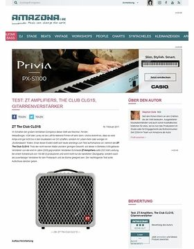 Test: ZT Amplifiers, The Club CLG1S, Gitarrenverstärker