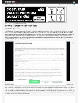 Ludwig Supraphonic LB552K