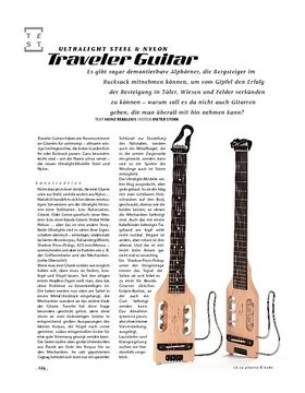 Traveler Guitar Ultralight Steel & Nylon, Reise-Gitarren