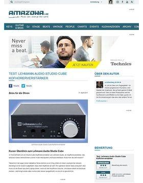 Test: Lehmann Audio Studio Cube