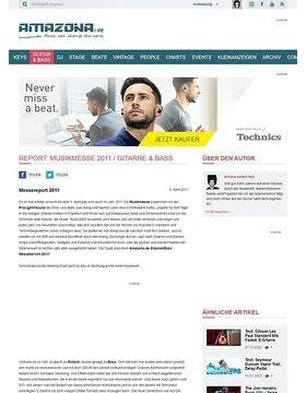 Report: Musikmesse 2011 / Gitarre & Bass