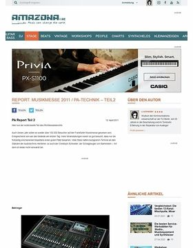 Report: Musikmesse 2011 / PA-Technik - Teil2
