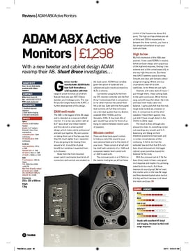 ADAM A8X Active Monitors