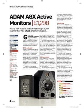 ADAM A8X Active Monitors