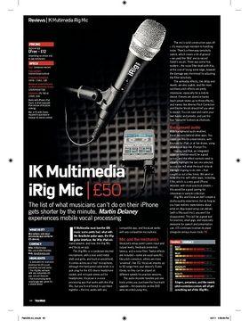 IK Multimedia iRig Mic