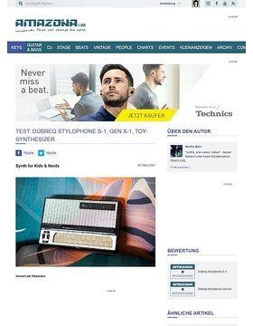 Test: Dübreq Stylophone & Stylophone Beatbox