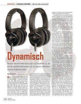 Dynamisch KRK KNS 6400 und KNS 8400