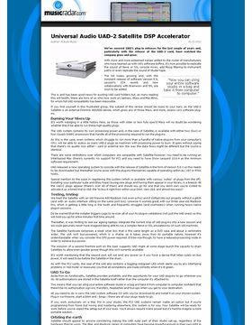 Universal Audio UAD-2 Satellite DSP Accelerator