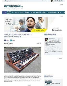 Test: Moog Voyager XL, Teilmodularer Analog Synthesizer
