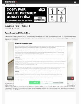 Aquarian-Felle Testset 3